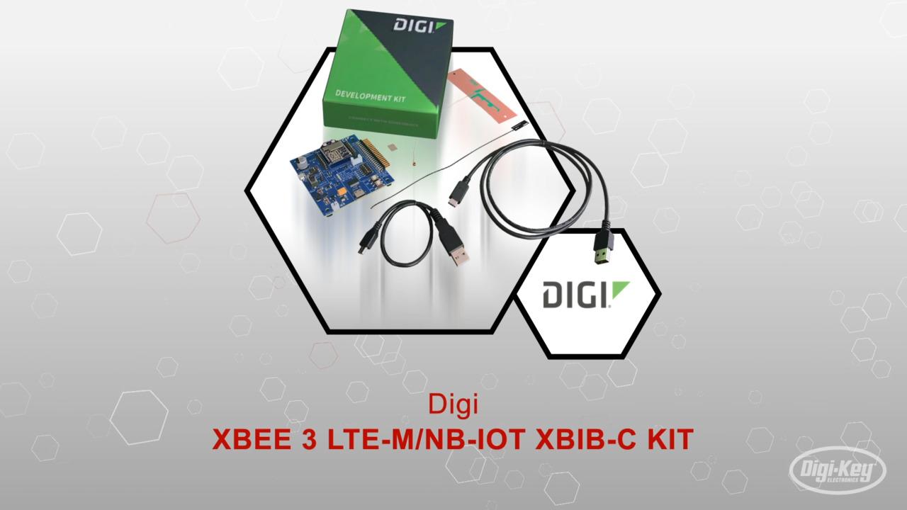 XBEE3 LTE-M/NB-IOT XBIB-C KIT | Datasheet Preview