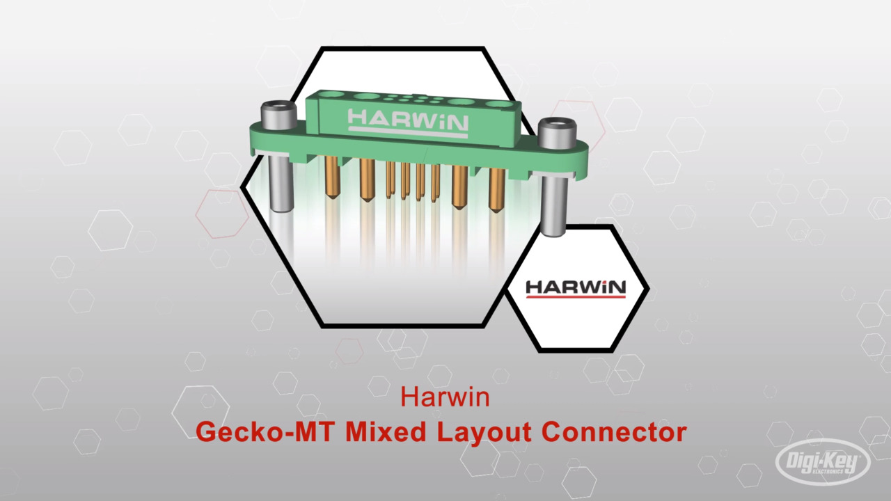 Gecko-MT Mixed Layout Connector | Datasheet Preview