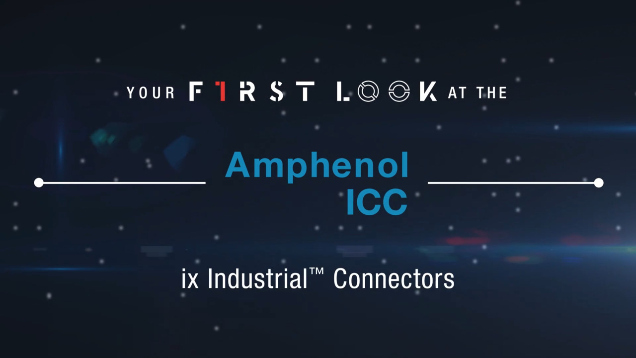 ix Industrial™ IP20 Connectors | First Look