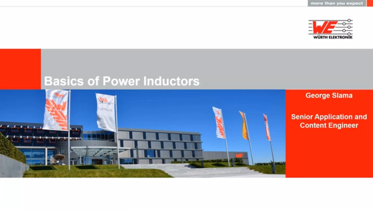 WEbinar Powered by Digi-Key: Basics of Power Inductors