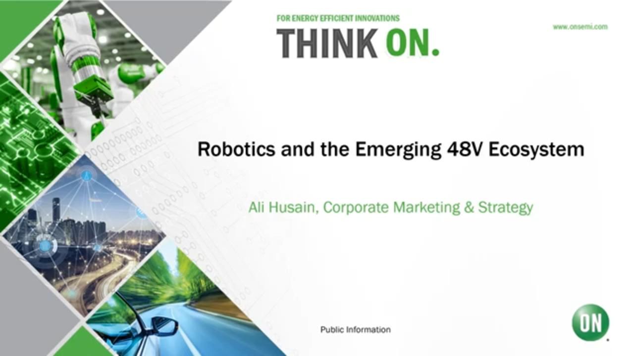 Robotics and the Emerging 48V Ecosystem