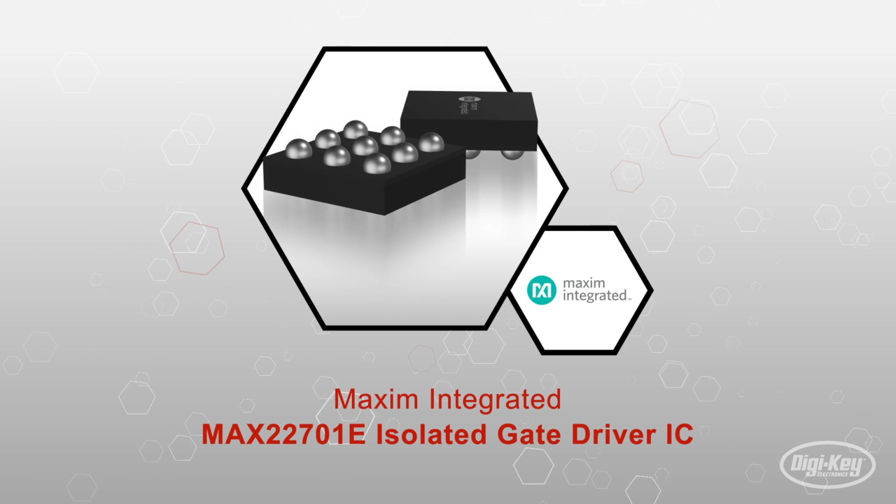 MAX22701E Isolated Gate Driver IC | Datasheet Preview