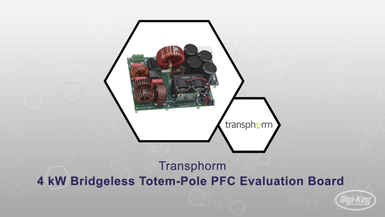 4kW Bridgeless PFC Eval Board | Datasheet Preview