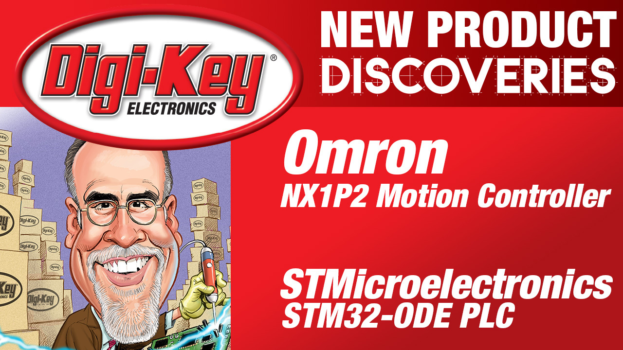 Omron and STMicroelectronics New Product Discoveries Episode 24