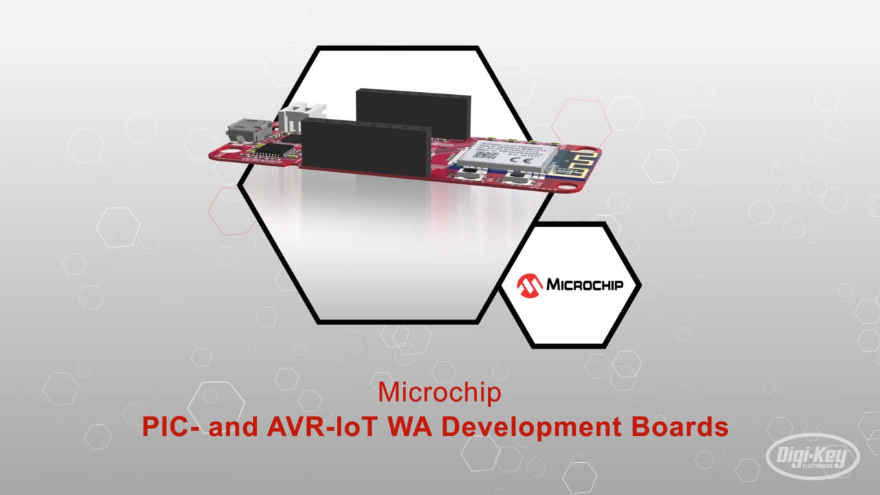 EV54Y39A PIC-IoT WA Development Board | Datasheet Preview