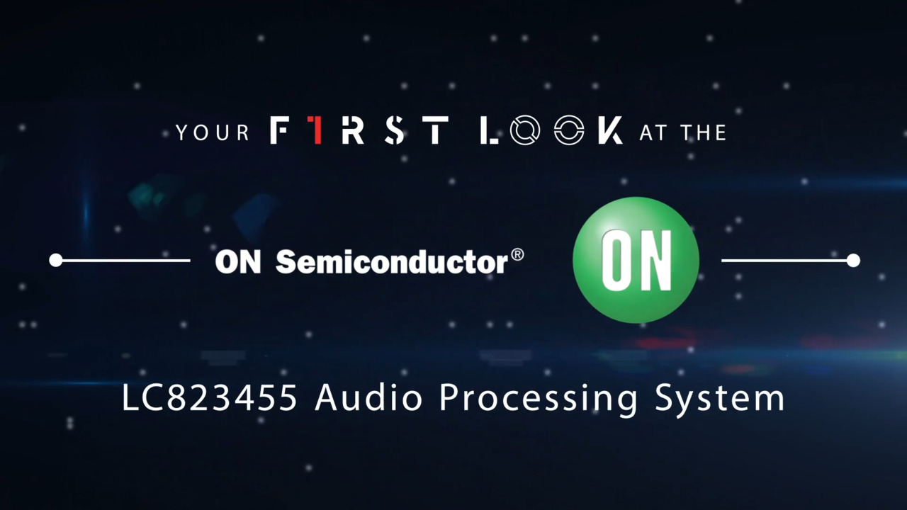 ON Semiconductor LC823455 Audio Processing System | First Look