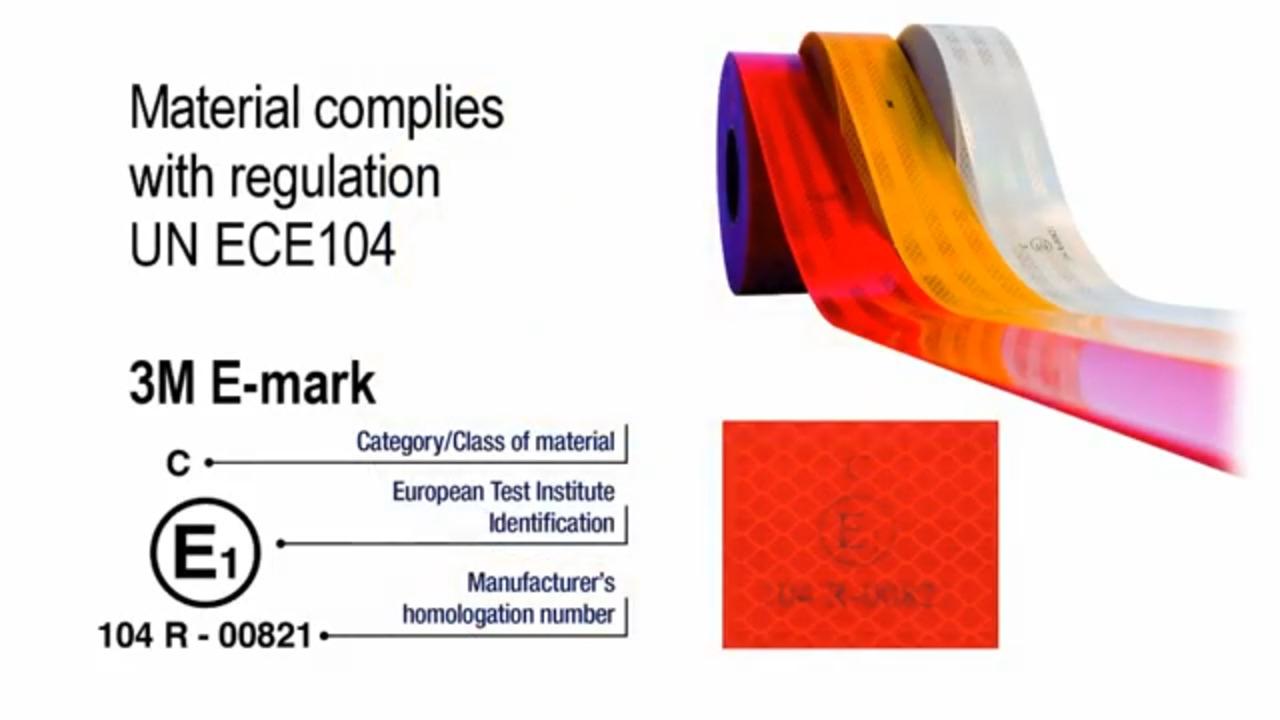 3M™ Diamond Grade Vehicle Marking Film