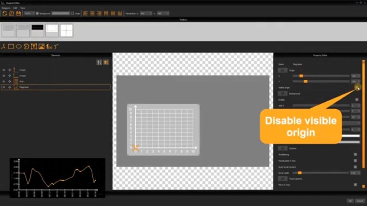 uniTFTDesigner Diagram Editor - Tutorial Simple Diagram