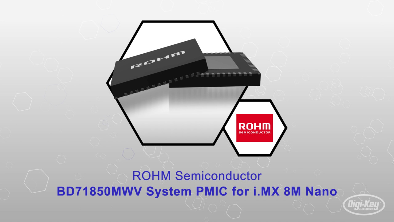 BD71850MWV System PMIC for i.MX 8M Nano | Datasheet Preview