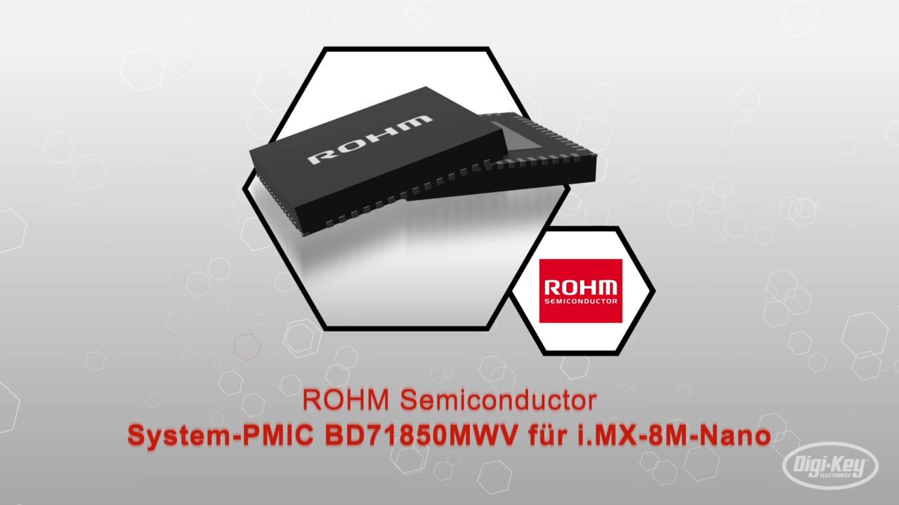System-PMIC BD71850MWV für i.MX-8M-Nano | Datasheet Preview