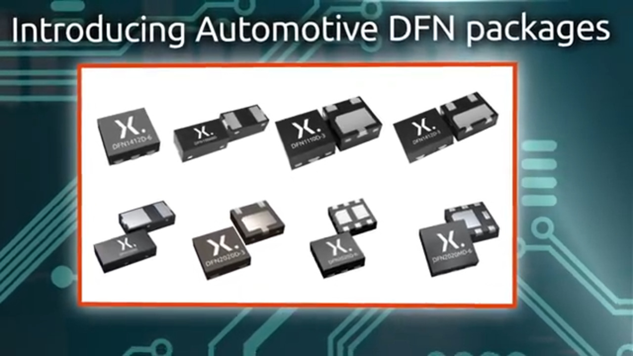 Introducing Automotive DFN packages