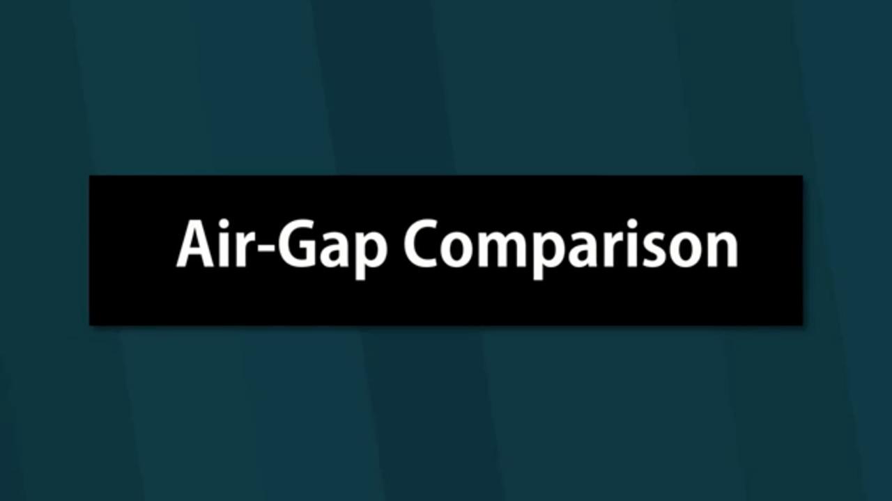 Noritake GT-1P Touch Comparison   Air-Gap