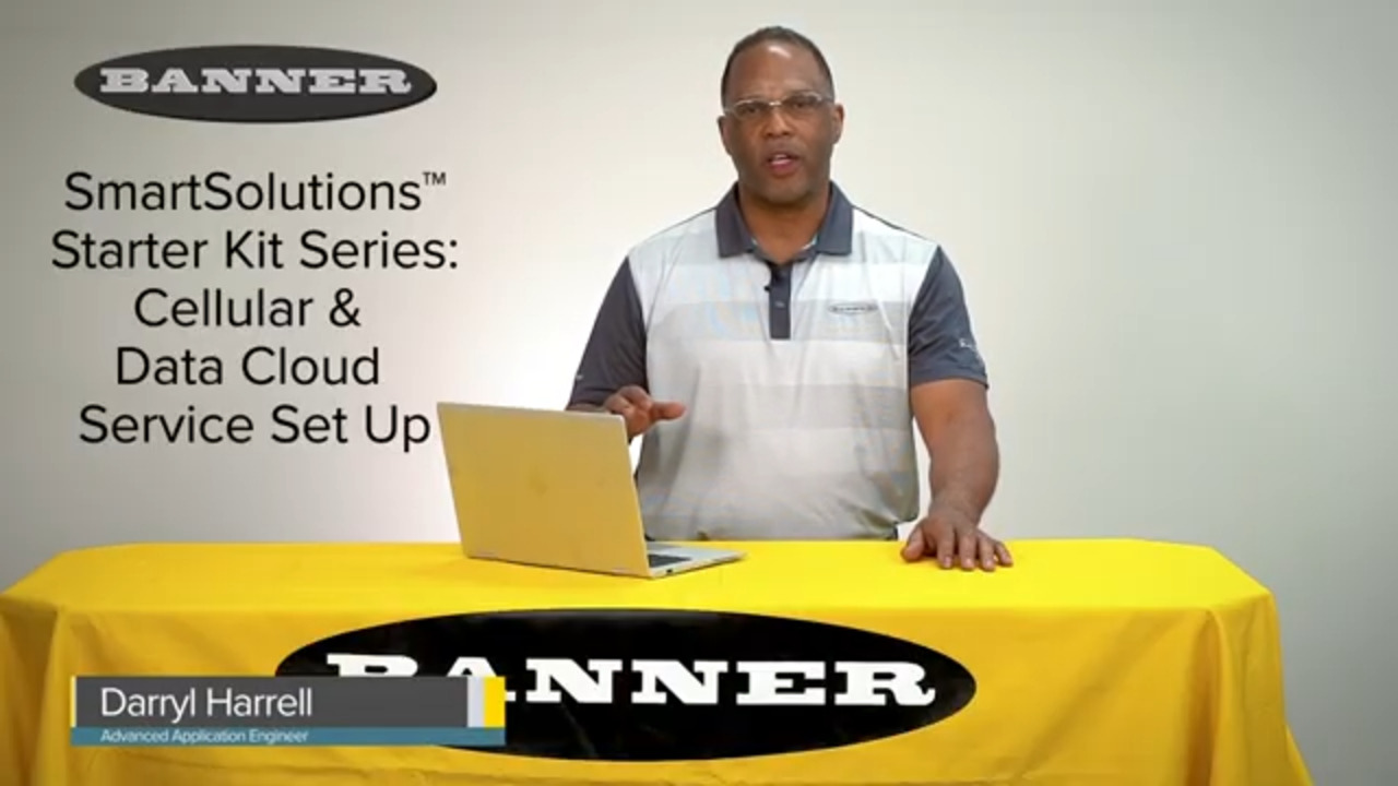 SmartSolutions™ Starter Kits Series: Cellular and Cloud Data Services Setup