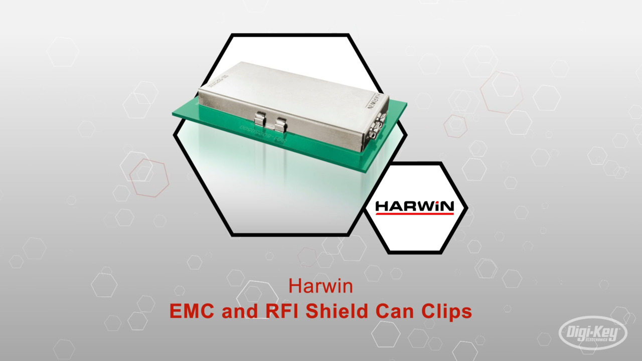 EMC/RFI Shield Can Clips | Datasheet Preview
