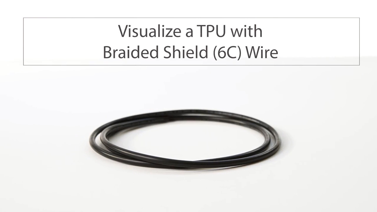 Visualize Tensility's TPU with Braided Shield 6C