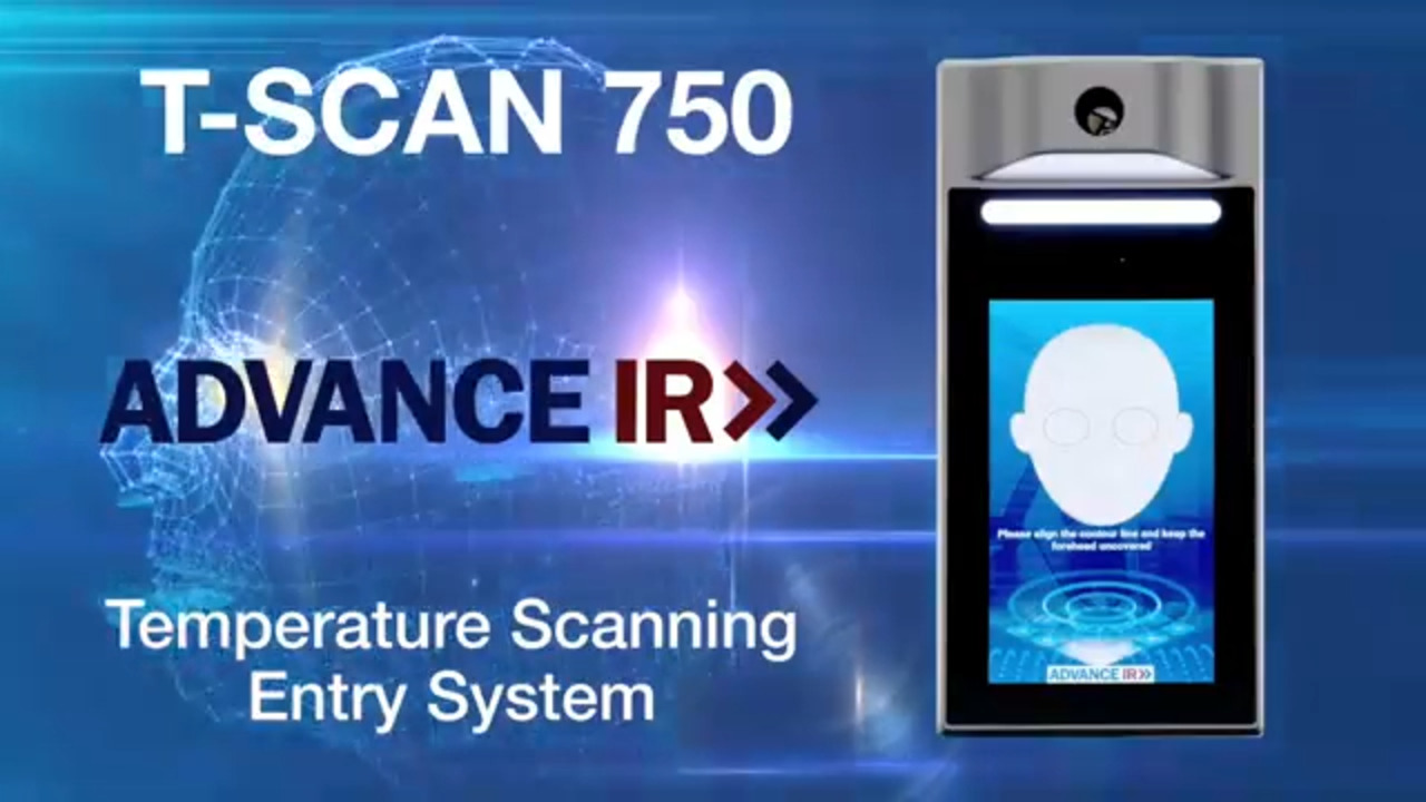 Advance IR  TSCAN-750 - Temperature Screening Entry System