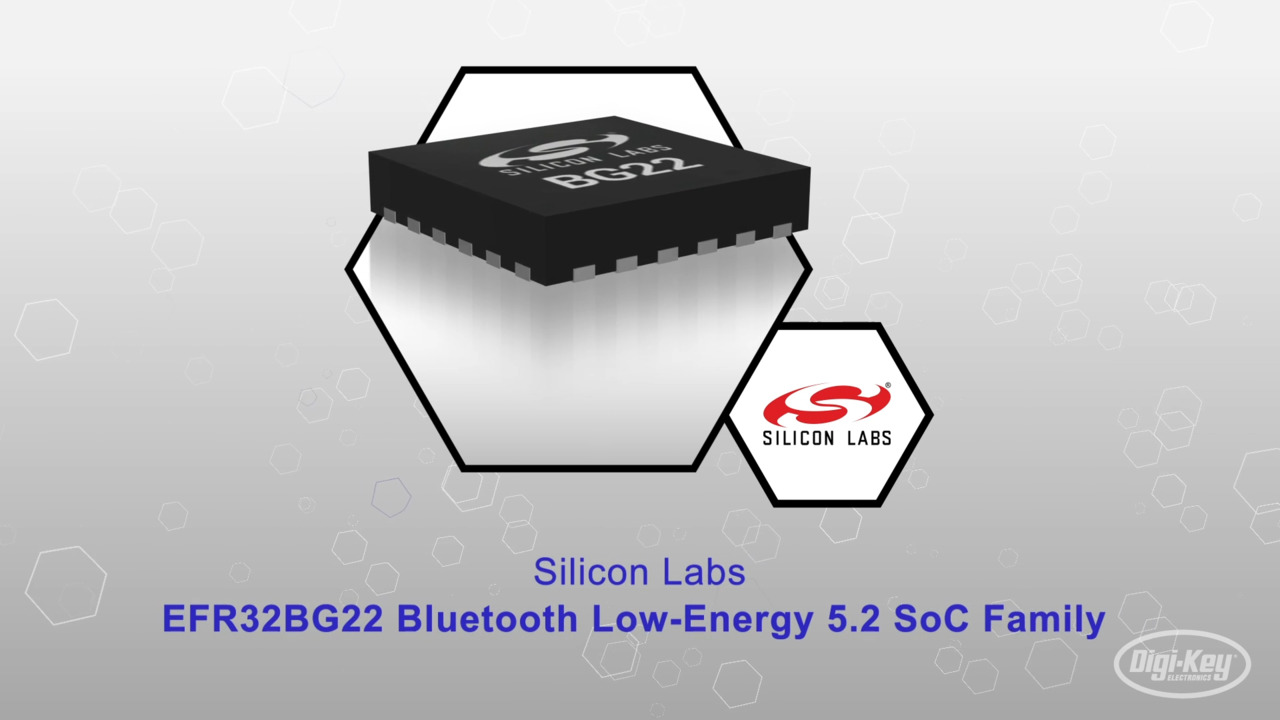 EFR32BG22 Bluetooth Low-Energy 5.2 SoC Family | Datasheet Preview