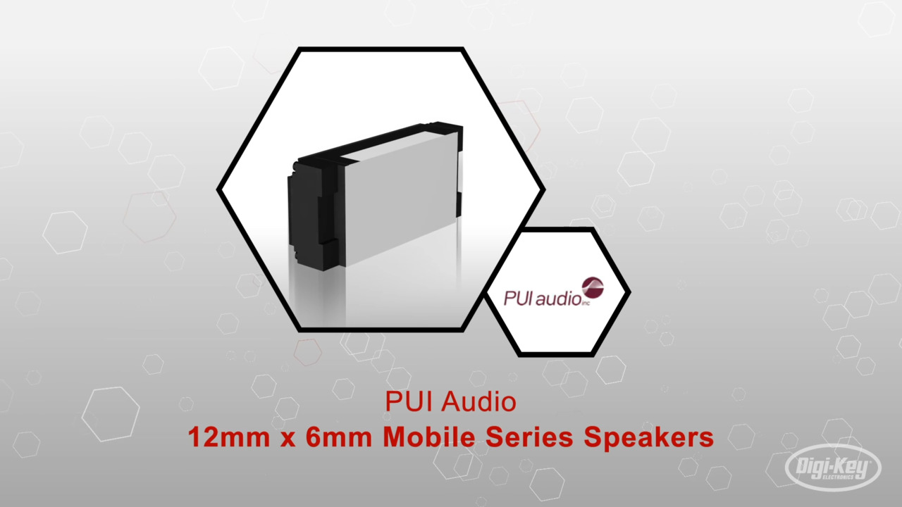12mm 6mm Mobile Series- Speakers | Datasheet Preview
