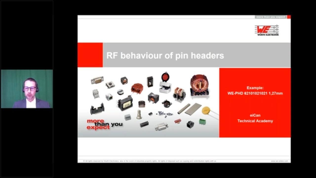 WEbinar Powered by Digi-Key: RF Behavior of Pin and Socket Headers