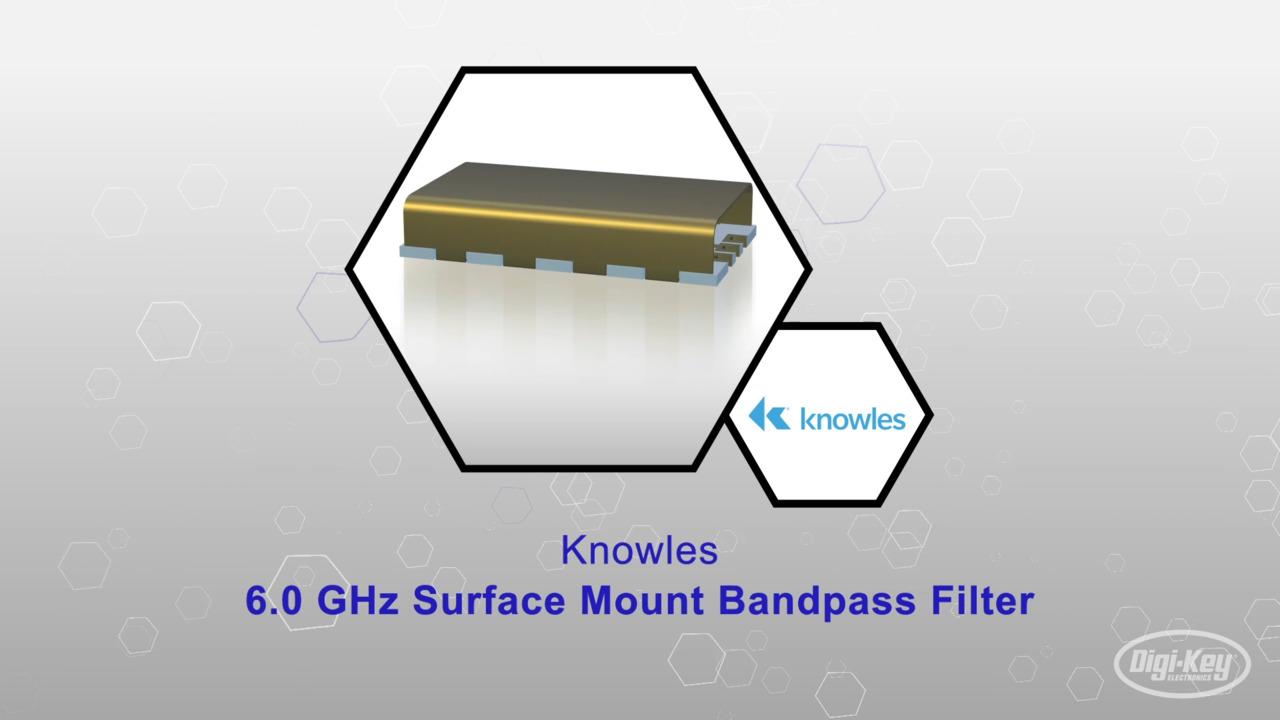 6.0 Ghz Surface Mount Bandpass Filter | Datasheet Preview