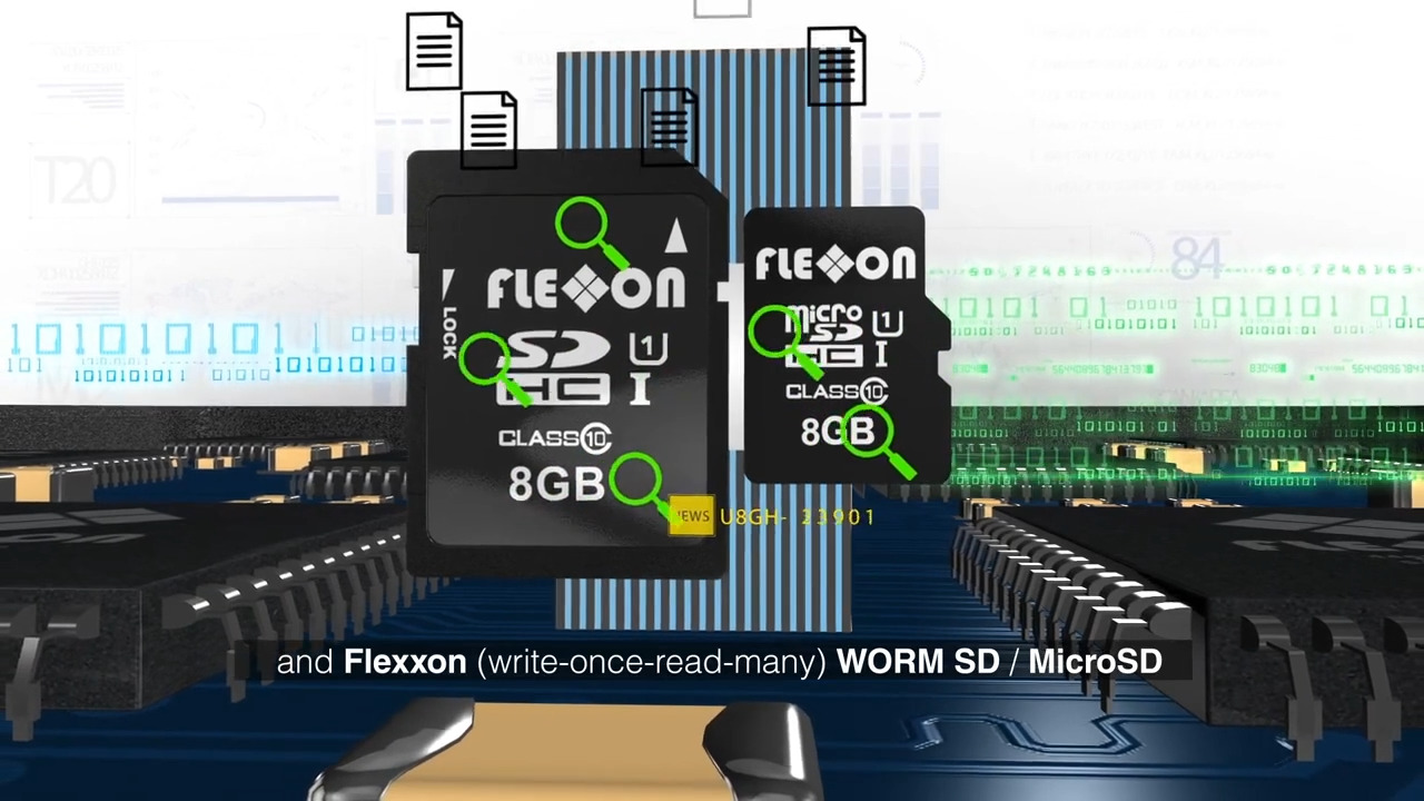 Flexxon WORM (Write-once-read-many) Memory Cards- Non-Erasable & Non-Rewritable Storage Solution