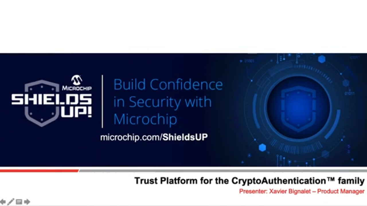 Shields UP #2 - Trust Platform for the CryptoAuthentication™ Device Family