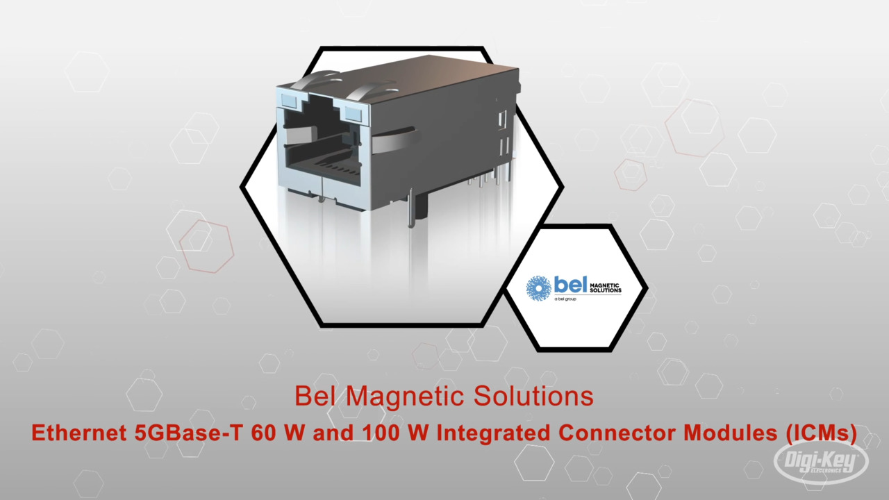 Bel Mag- 5G base T ICM | Datasheet Preview