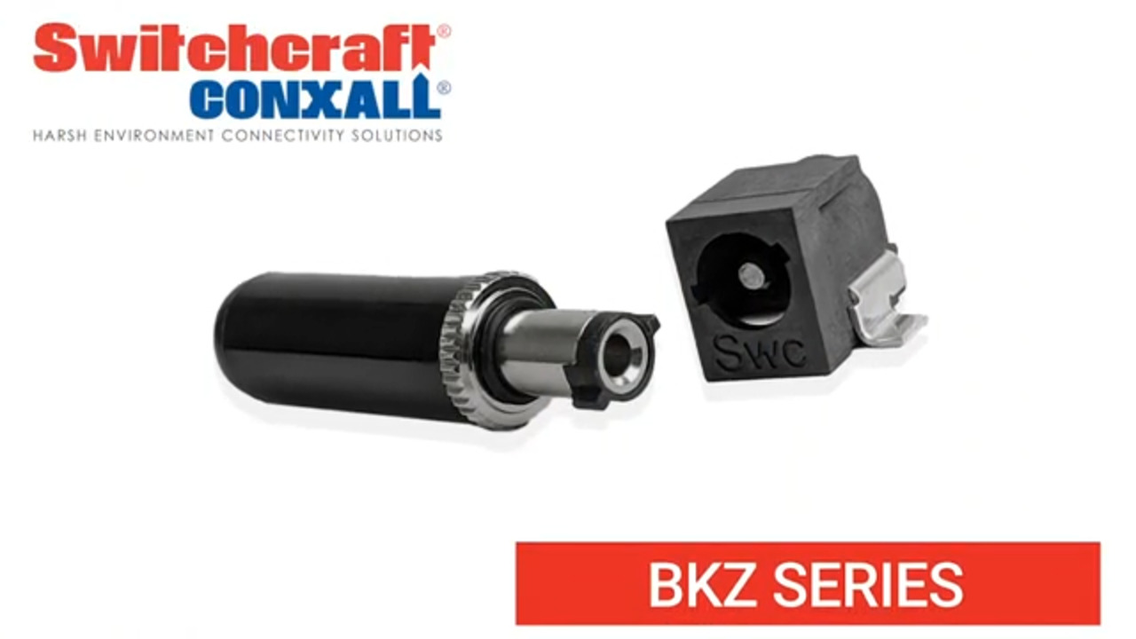 BKZ Series DC Power Jacks and Plugs