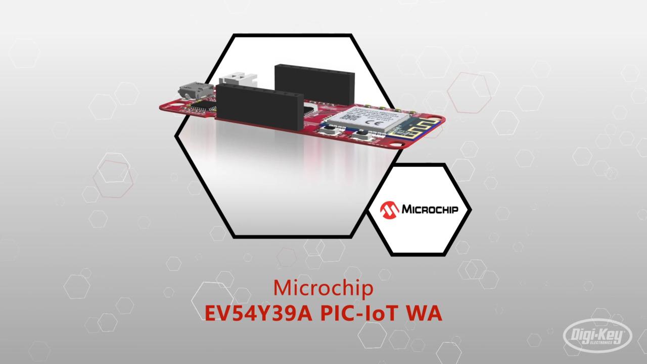 EV54Y39A PIC-IoT WA 開発ボード | Datasheet Preview