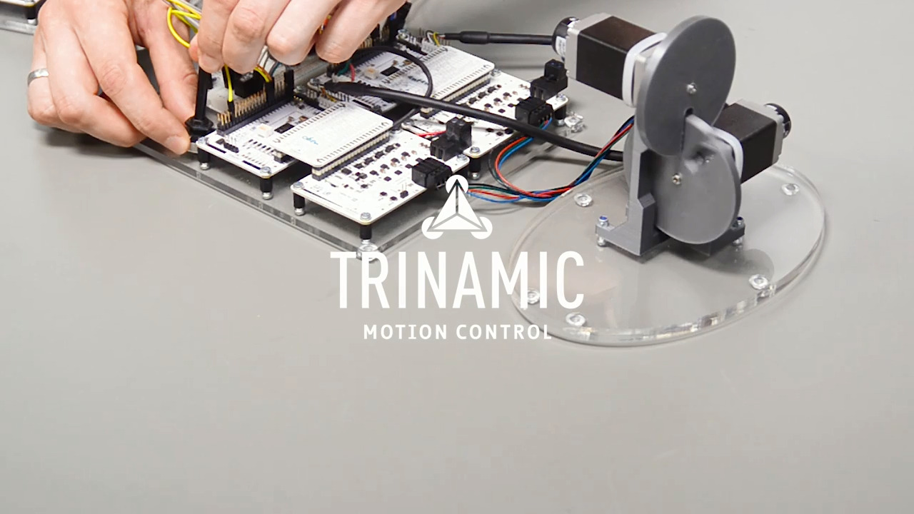 Trinamic TMC4671 Servo Controller with Field Oriented Control