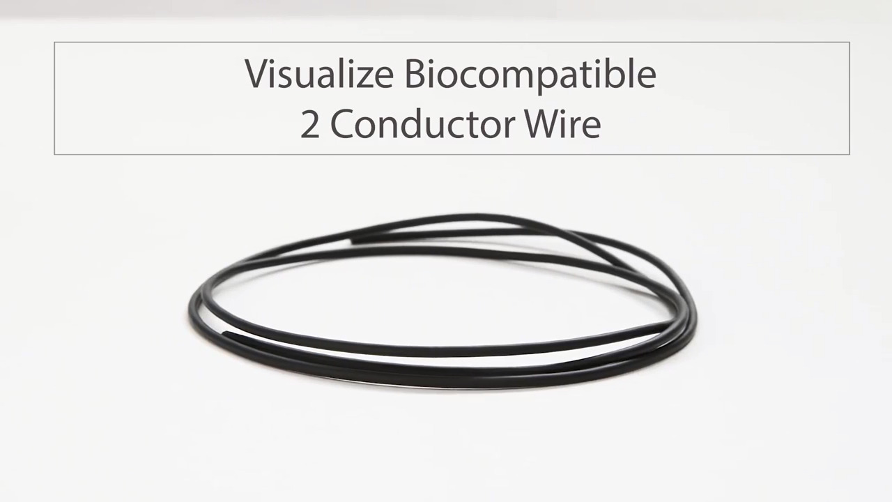 Visualize Tensility's Biocompatible 2 Conductor Wire