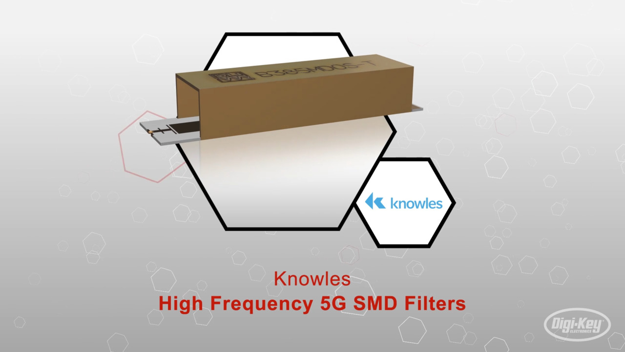 High Frequency 5G SMD Filters | Datasheet Preview