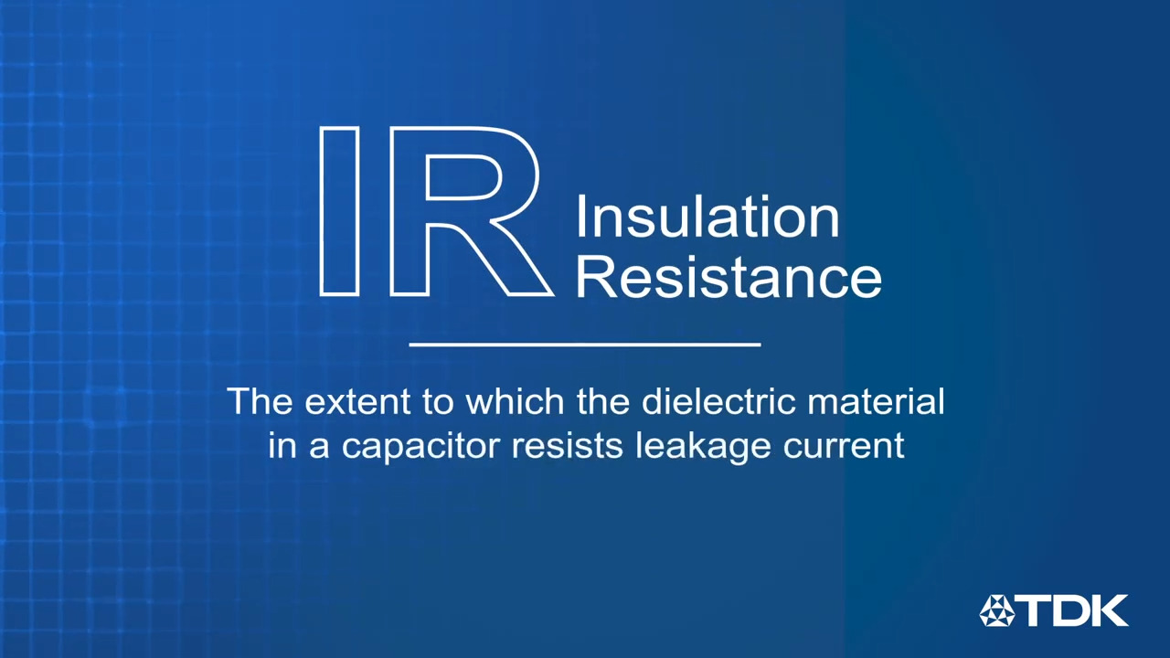TDK FAQs - Measuring Insulation Resistance of a Capacitor