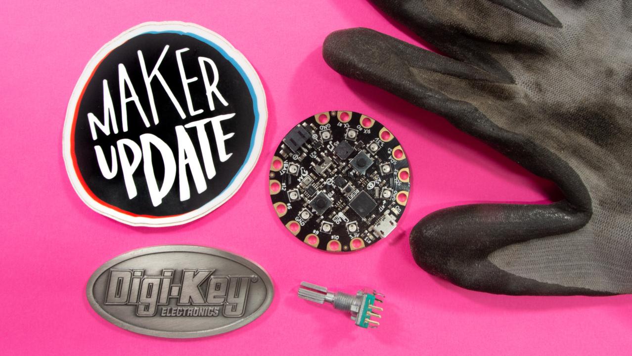 Virtual High Five [Maker Update] Maker.io