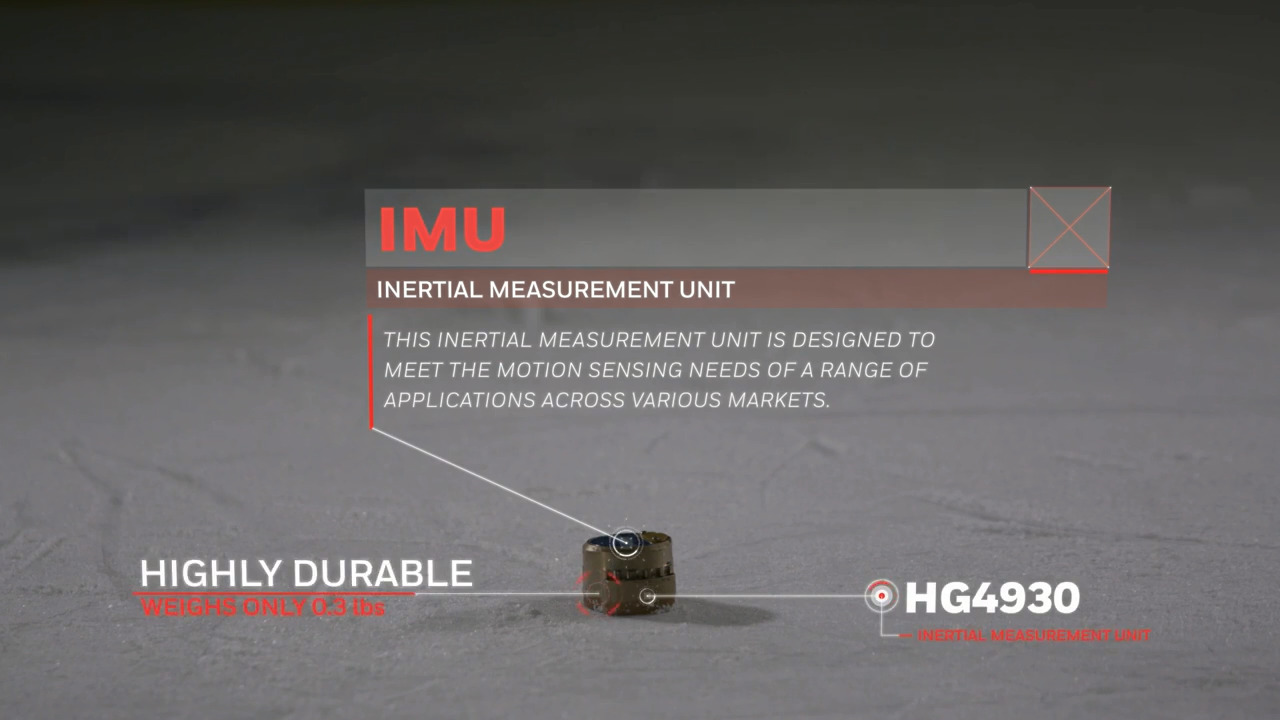 Honeywell HG4930 Inertial Measurement Unit Survives Hockey Hits