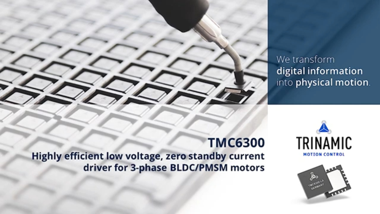 TMC6300 Product Training Module