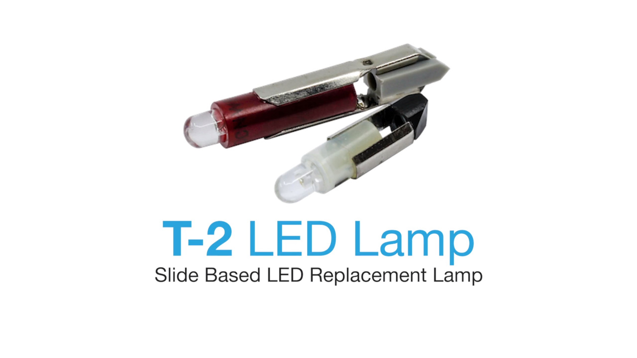 T-2 LED Lamps - ​Slide Based LED Replacement Lamp