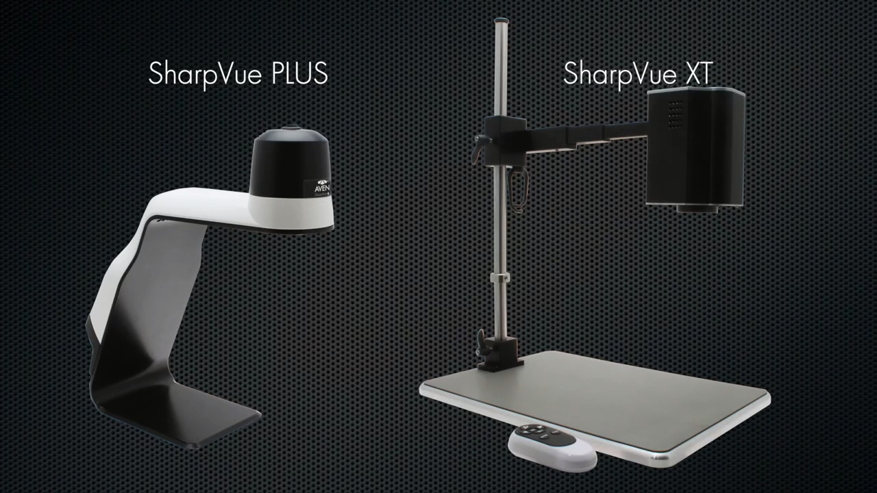Aven's SharpVue PLUS and SharpVue XT Digital inspection Systems