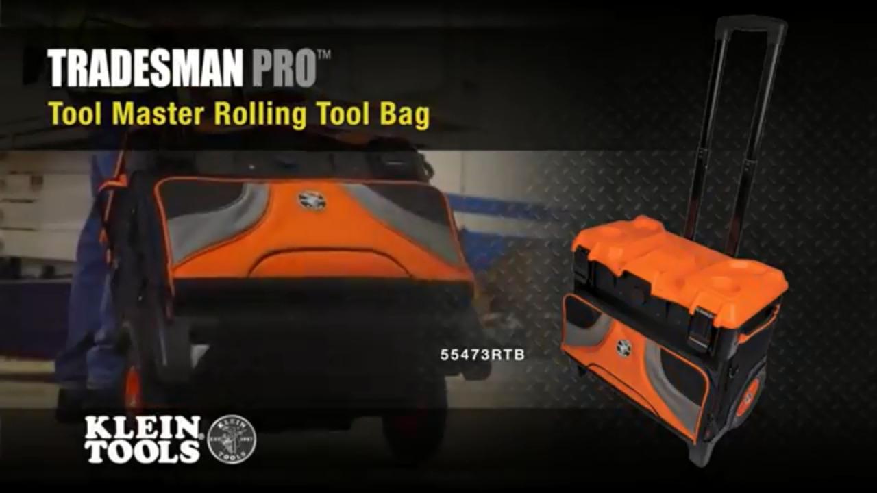 Tradesman Pro™ Tool Master Rolling Tool Bag