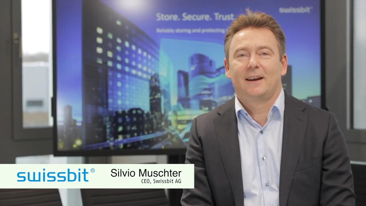 Store. Secure. Trust. – Silvio Muschter (CEO) introduces Swissbit