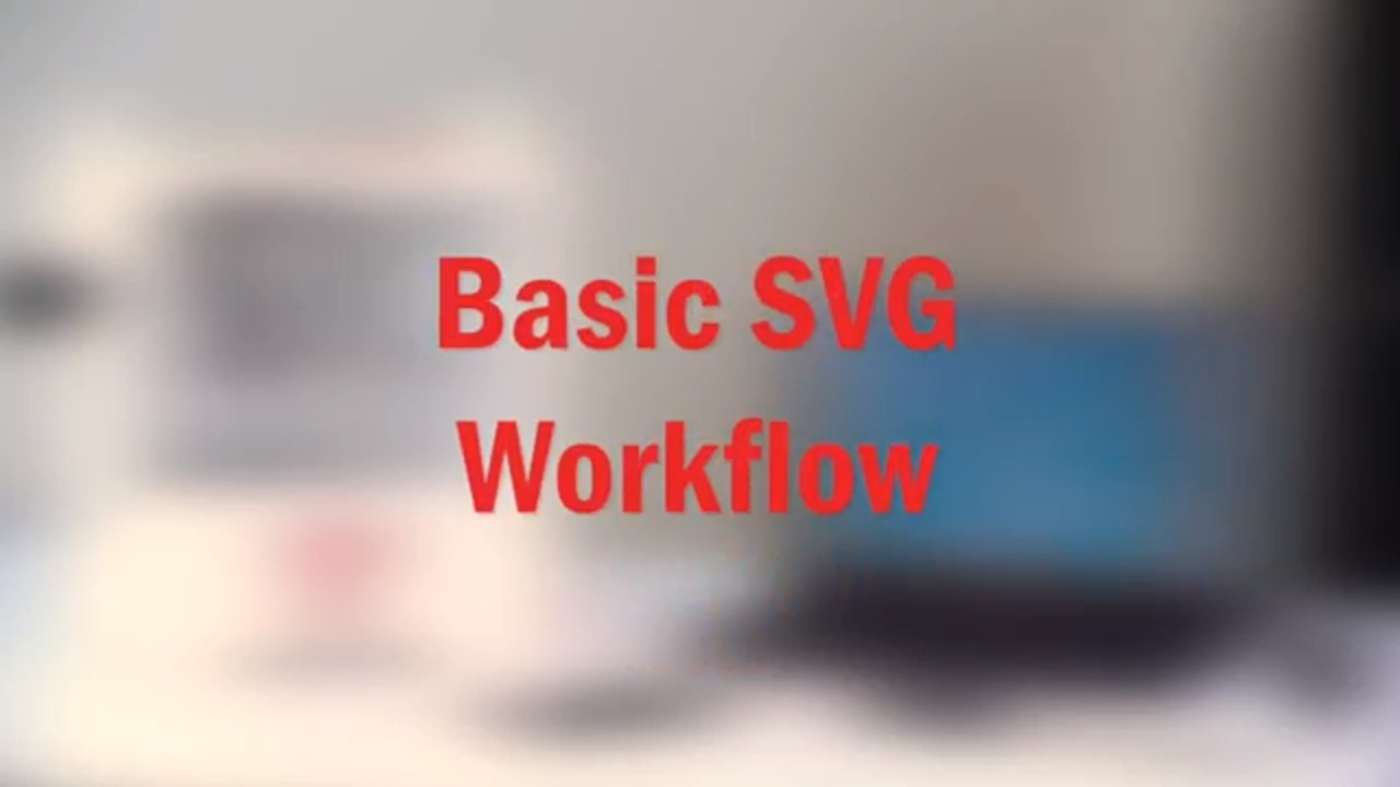 Basic SVG Workflow in the Bantam Tools Software