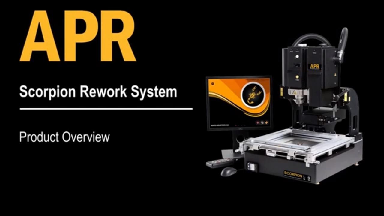 APR Scorpion Rework Machine