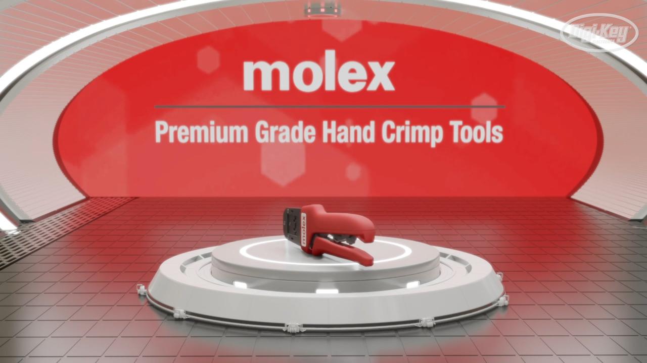 Molex Premium Hand Tools