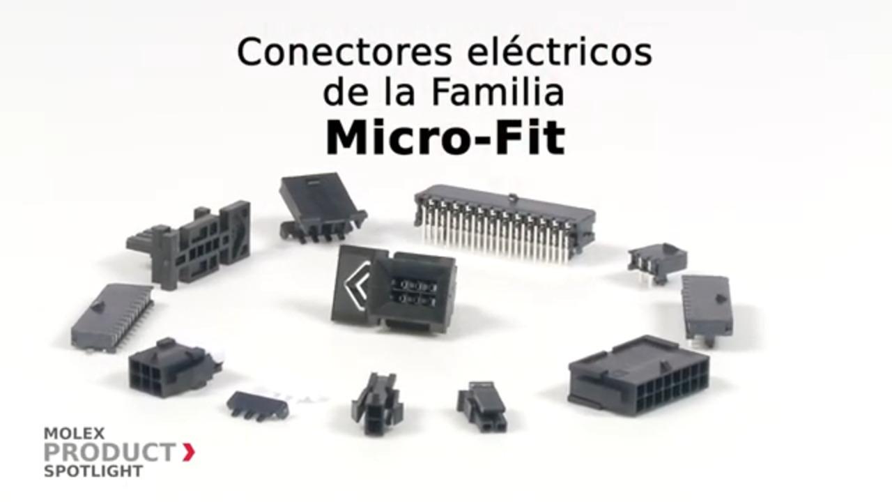 Conectores de alimentación Micro-Fit