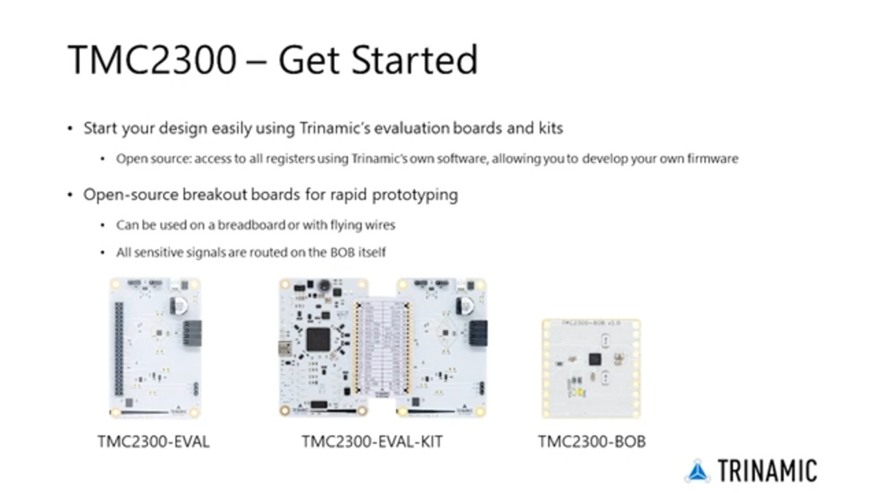 TMC2300 Product Training Module