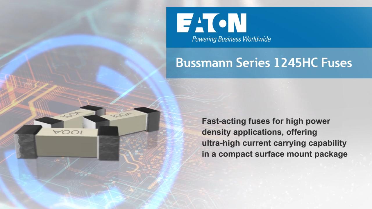 Bussmann Series 1245HC High Current SMD Fuses