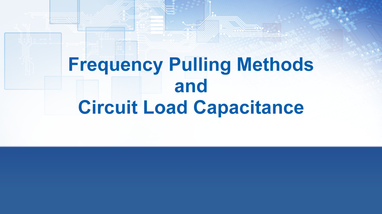 Pulling Methods and Circuit Load