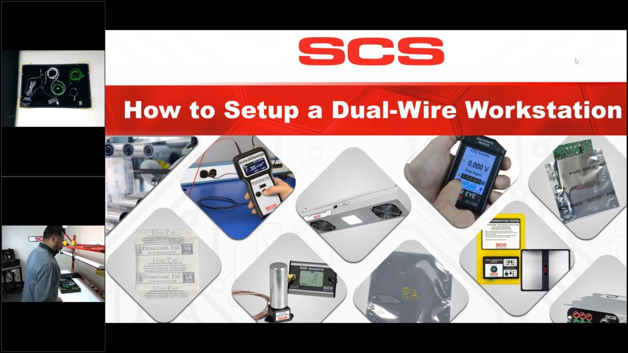 How to Setup a Dual-Wire Workstation