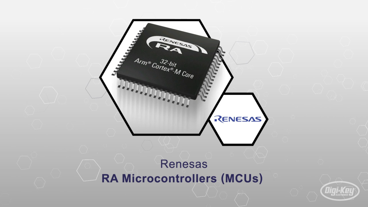 Renesas RA MCU's | Datasheet Preview