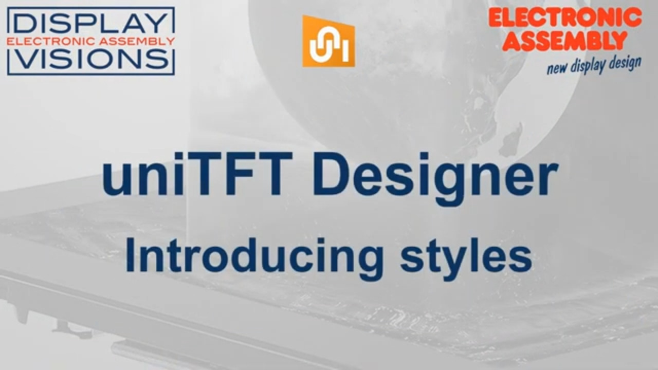 uniTFTDesigner Introduction for Styles and Styles Sheets